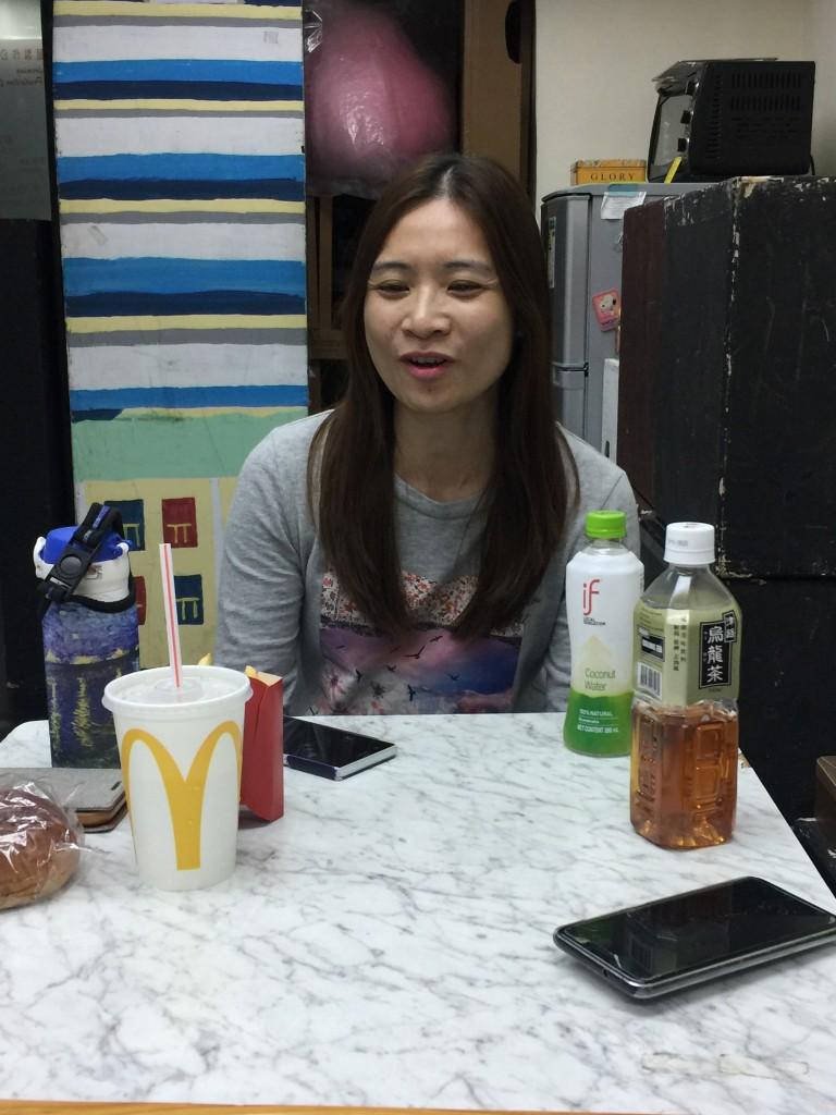 《心.息》編劇兼演員劉敏琪