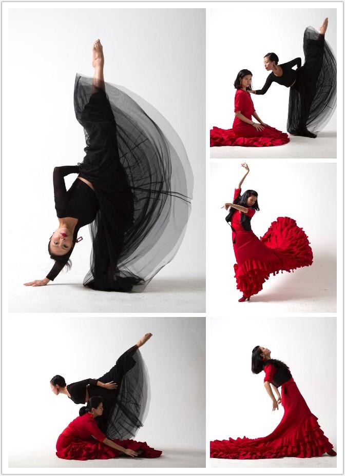現代舞與佛蘭明歌舞蹈結合演出