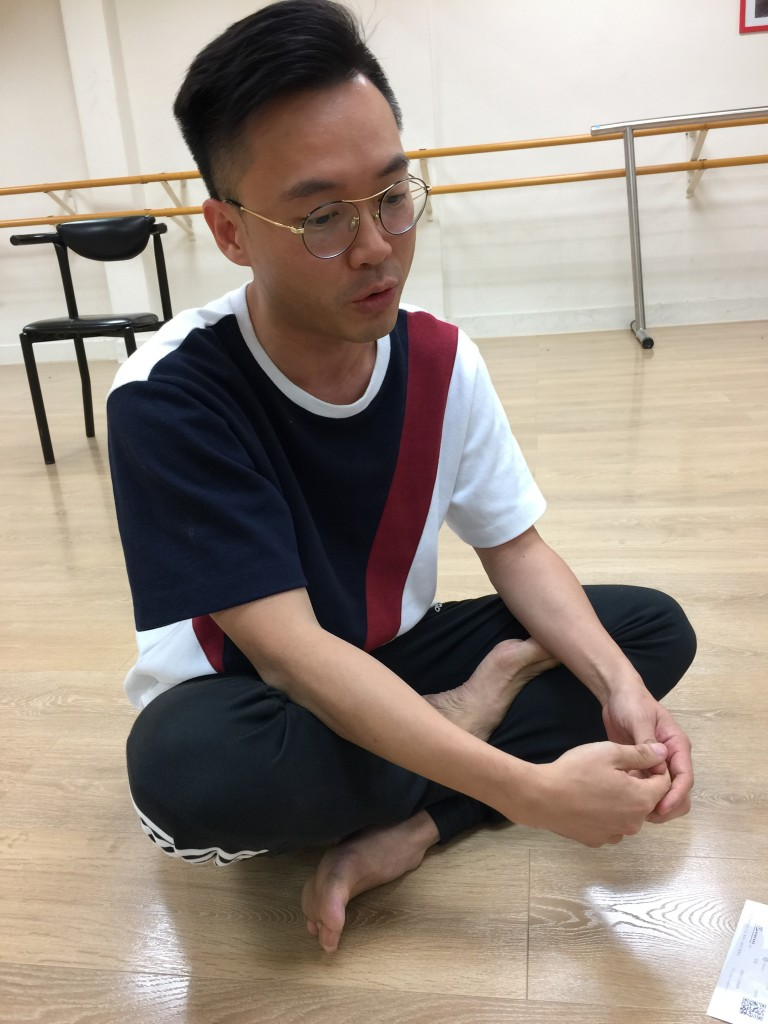 編舞的Cyrus自言是次演出主題來自台灣的同志婚姻法。
