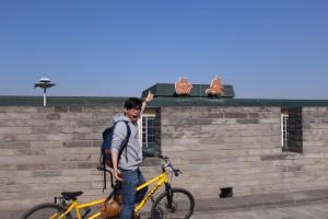Dayco 以單車代步,暢遊西安文化古城