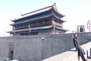 再多的帝王夢,都湮沒在歷史洪流中,只有西安的城樓仍留存下來