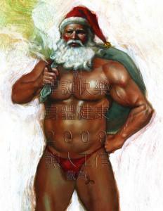 有想像過如此裝扮的聖誕老人嗎?