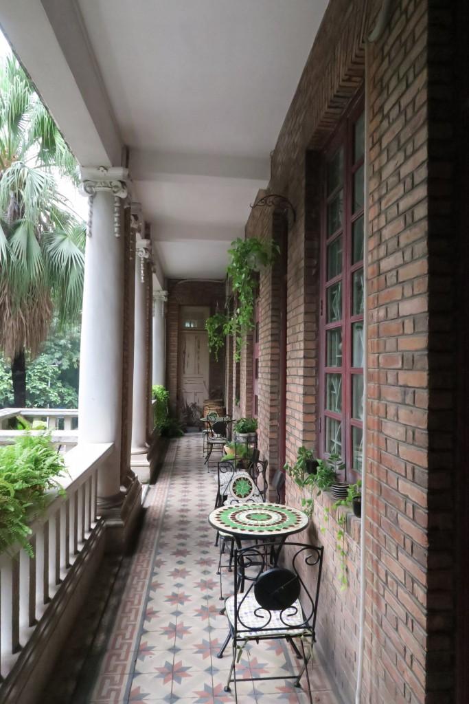 滿滿的西洋建築風格,正是逵園比其他藝術館的獨特之處。